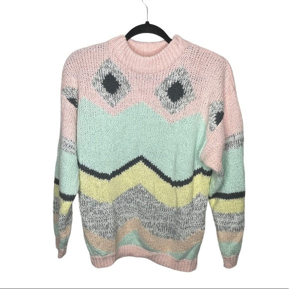 Vintage One Step Up Acrylic Sweater